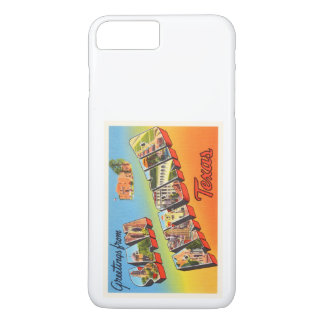 San Antonio #1 Texas TX Vintage Travel Souvenir iPhone 7 Plus Case