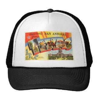 San Antonio #2 Texas TX Vintage Travel Souvenir Cap