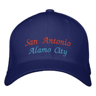 San Antonio, Alamo City Baseball Cap