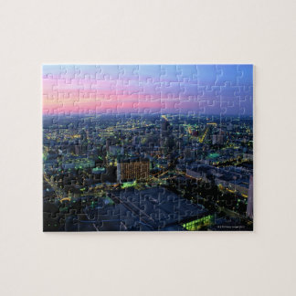 San Antonio at Dusk Jigsaw Puzzle