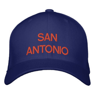 San Antonio Cap Embroidered Baseball Cap