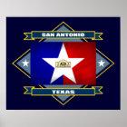 San Antonio Diamond Poster