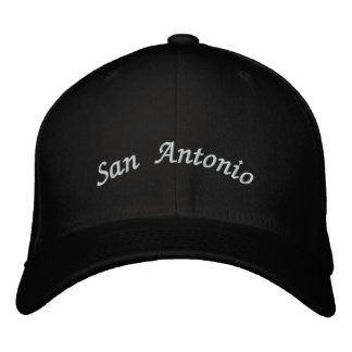 San Antonio Embroidered Baseball Cap