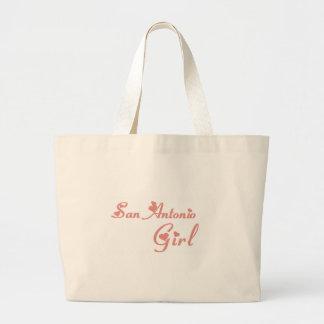 San Antonio Girl tee shirts Tote Bag