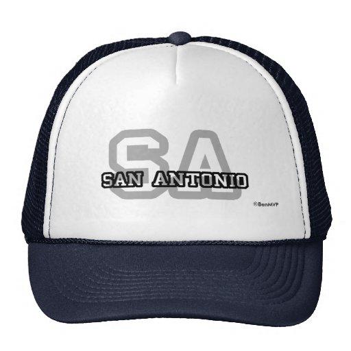 San Antonio Mesh Hat