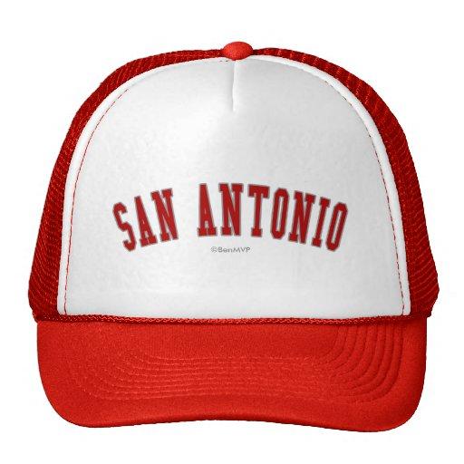 San Antonio Trucker Hats