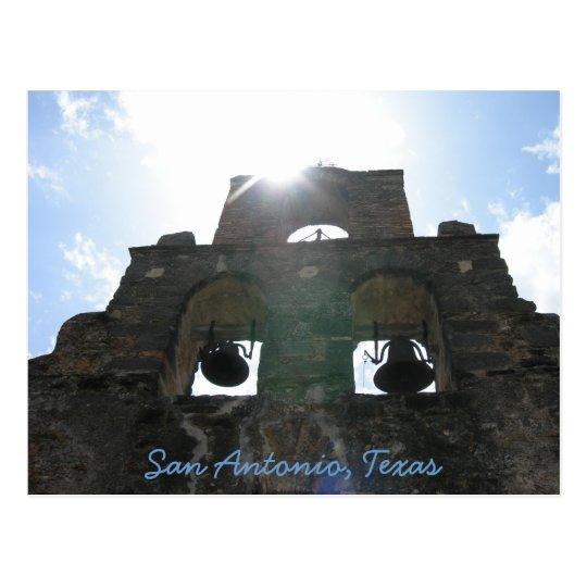 San Antonio Mission Postcard