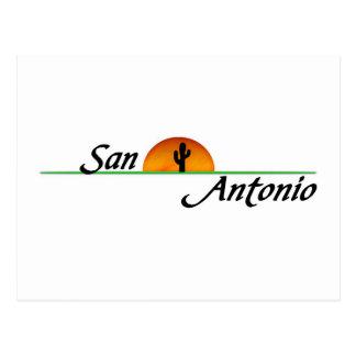 San Antonio Postcard