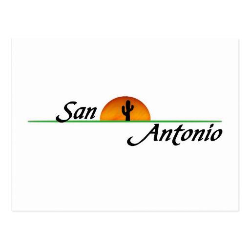 San Antonio Postcards