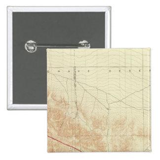 San Antonio quadrangle showing San Andreas Rift 15 Cm Square Badge