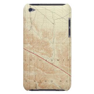 San Antonio quadrangle showing San Andreas Rift iPod Touch Case