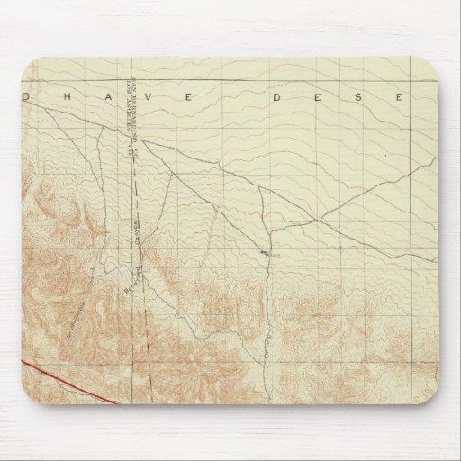San Antonio quadrangle showing San Andreas Rift Mouse Pad