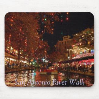 San Antonio River Walk Mouse Mat