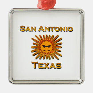 San Antonio Sun Icon Christmas Ornament