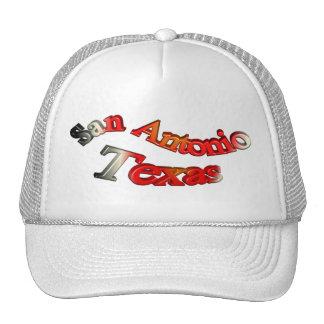 San Antonio Texas 3D Cap