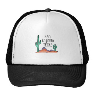 San Antonio Texas Trucker Hat