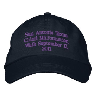 San Antonio Texas Embroidered Hat