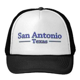 San Antonio Texas in Blue & Red Cap