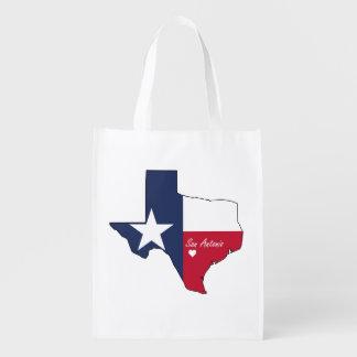 San Antonio, Texas Reusable Grocery Bag