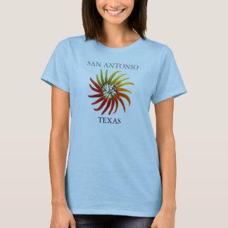 San Antonio TEXAS Shirt with Chili Pepper Design