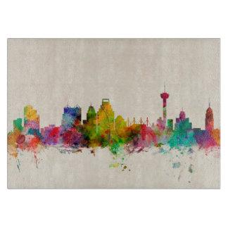 San Antonio Texas Skyline Cityscape Cutting Board