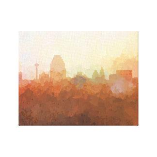 SAN ANTONIO, TEXAS SKYLINE-In the Clouds Canvas Canvas Print