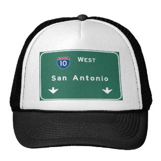 San Antonio Texas tx Interstate Highway Freeway : Cap
