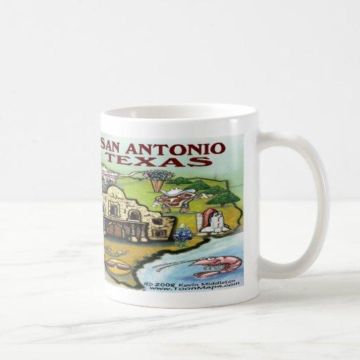San Antonio TX Coffee Mugs