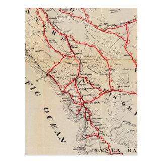 San Benito, Fresno, Monterey, San Luis Obispo Post Card