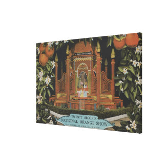 San Bernardino, CA - 22nd National Orange Show Canvas Prints