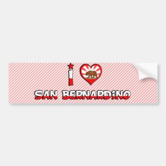 San Bernardino, CA Bumper Sticker