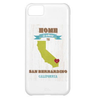 San Bernardino, California Map – Home Is Where Case For iPhone 5C