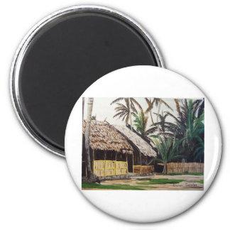 San Blas Islands, Panama WaterColor Magnet