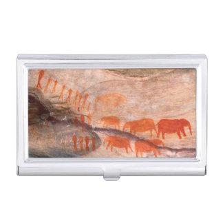 San, Bushman Rock Art, Cederberg Wilderness Business Card Holder