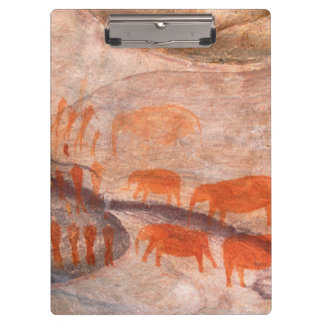 San, Bushman Rock Art, Cederberg Wilderness Clipboard