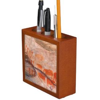 San, Bushman Rock Art, Cederberg Wilderness Desk Organiser