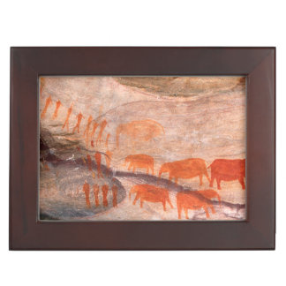 San, Bushman Rock Art, Cederberg Wilderness Keepsake Box