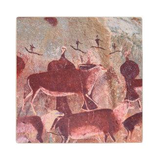 San, Bushman Rock Art, Ukhahlamba / Drakensberg Wood Coaster