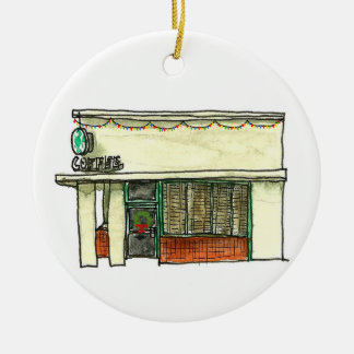 San Carlos California Ornament - Coffee Shop