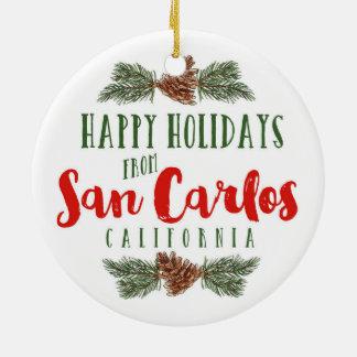 San Carlos California Ornament - Tivoli Building