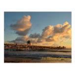 San Clemente California Pier Postcard