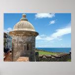 San Cristobal Fort Tower Poster