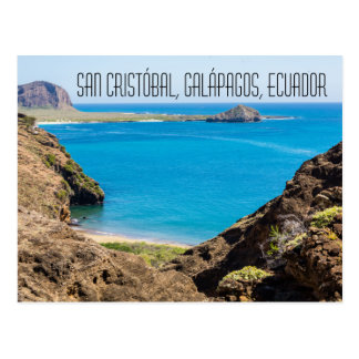 San Cristóbal Islas Galápagos Ecuador postcard