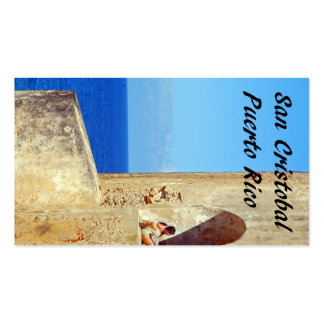 San Cristobal Puerto Rico Pack Of Standard Business Cards