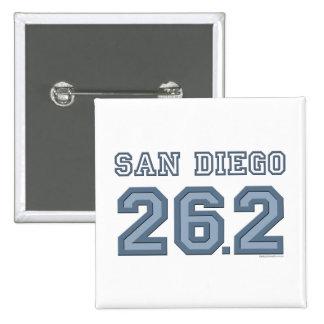 San Diego 26 2 Square Button