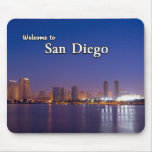 San Diego At Night Mousepads