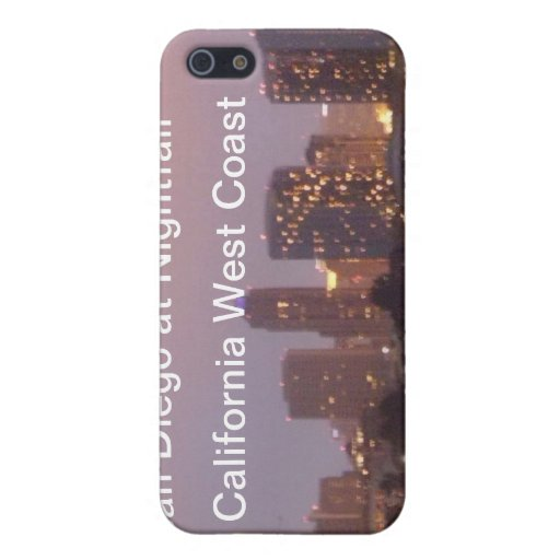 San Diego At Nightfall California West Coast Speck iPhone 5 Cases