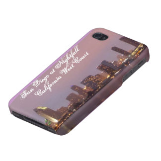 San Diego At Nightfall California West Coast Speck Case For iPhone 4