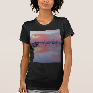 San Diego Bay Seen From The Airport Side At Sunris Shirts