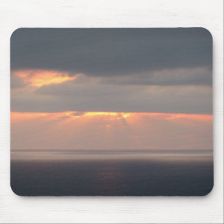 San Diego Beach Sunset Mouse Mat